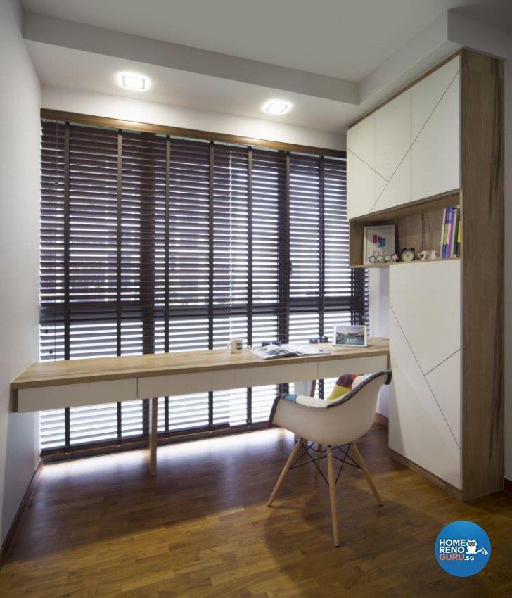Study Room Interior Design: Singapore Interior Design Gallery Design Details