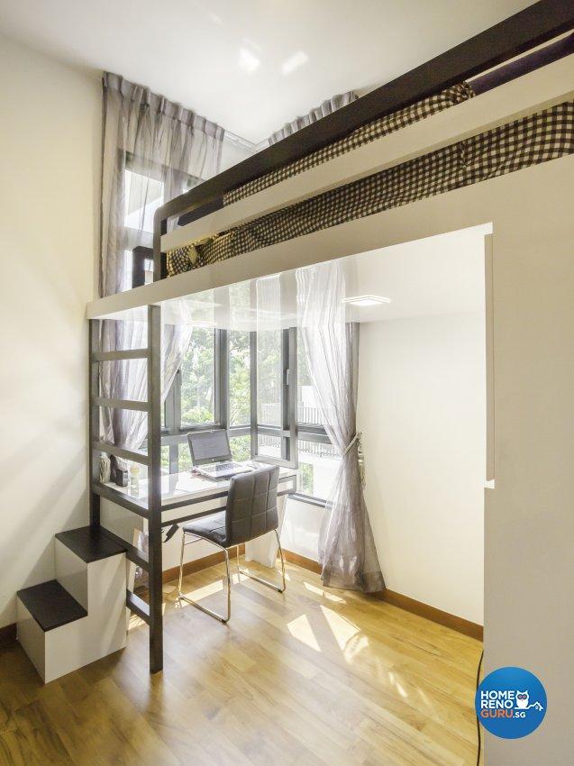 Classical Design - Study Room - Condominium - Design by Vegas Interior Design Pte Ltd