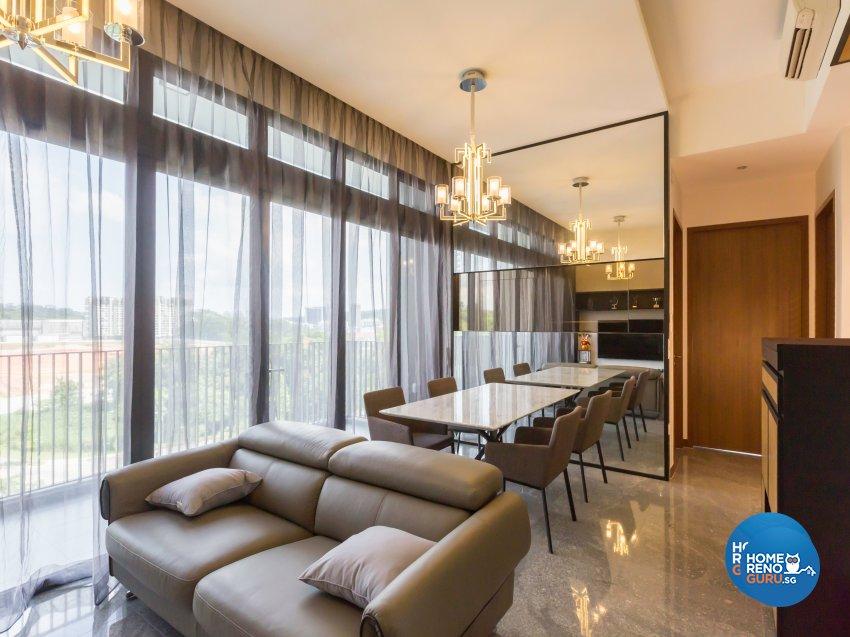 Classical Design - Living Room - Condominium - Design by Vegas Interior Design Pte Ltd