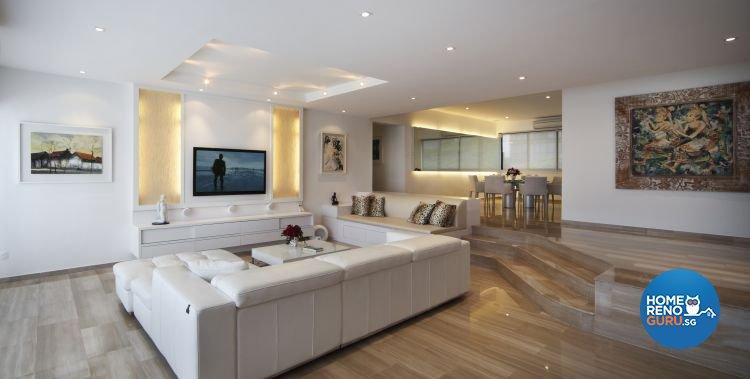 Contemporary, Minimalist Design - Living Room - Condominium - Design by Vegas Interior Design Pte Ltd