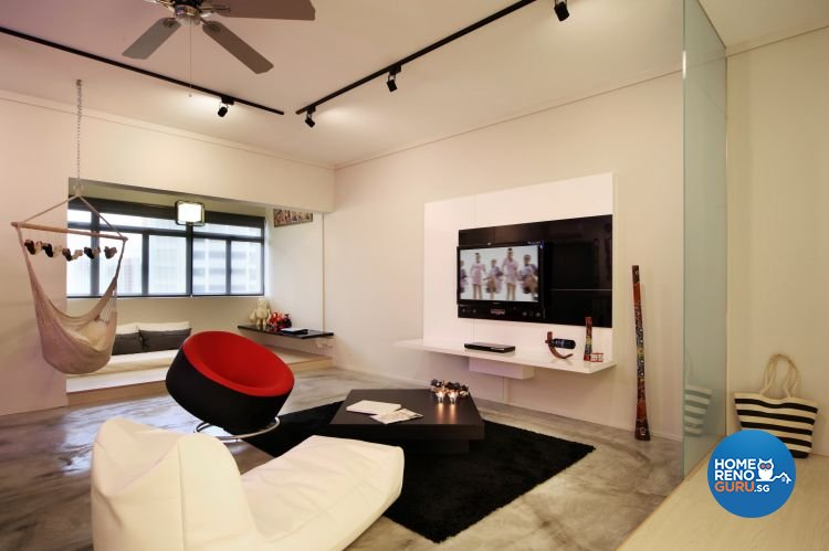 Eclectic, Industrial, Scandinavian Design - Living Room - HDB 5 Room - Design by Vegas Interior Design Pte Ltd