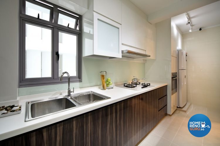 Classical, Contemporary Design - Kitchen - HDB 5 Room - Design by Vegas Interior Design Pte Ltd