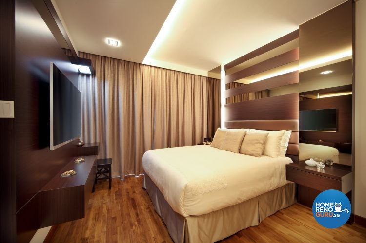 Classical, Contemporary Design - Bedroom - HDB 5 Room - Design by Vegas Interior Design Pte Ltd