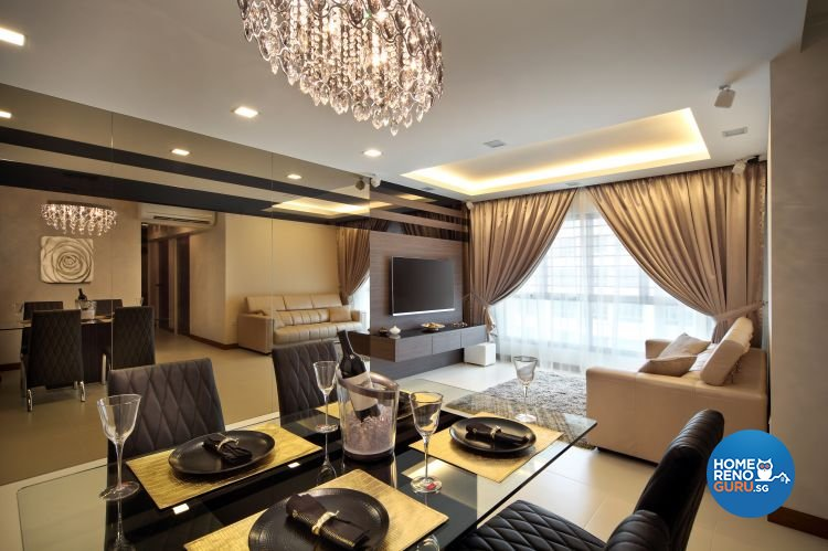 Vegas Interior Design Pte Ltd-HDB 5-Room package