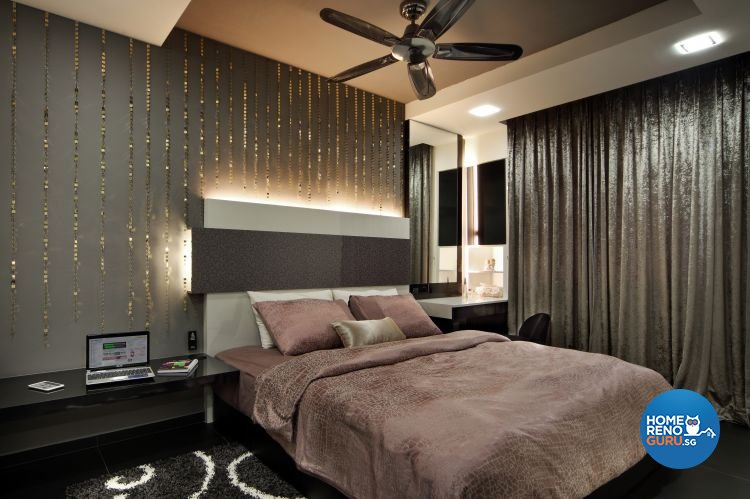 Classical, Modern Design - Bedroom - HDB 5 Room - Design by Vegas Interior Design Pte Ltd