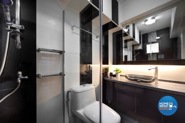 Classical, Modern Design - Bathroom - HDB 5 Room - Design by Vegas Interior Design Pte Ltd
