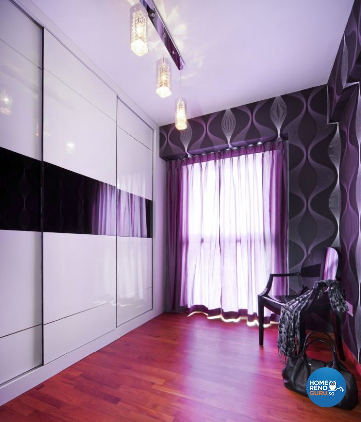 Classical, Contemporary, Modern Design - Bedroom - HDB 4 Room - Design by Vegas Interior Design Pte Ltd