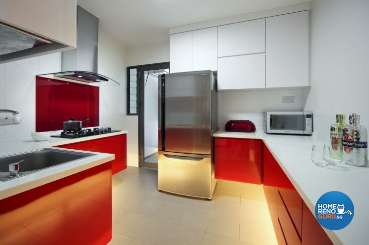 Classical, Contemporary, Modern Design - Kitchen - HDB 4 Room - Design by Vegas Interior Design Pte Ltd