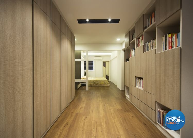 Contemporary Design - Bedroom - HDB 3 Room - Design by Vegas Interior Design Pte Ltd