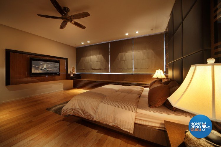 Minimalist, Modern Design - Bedroom - Condominium - Design by Vegas Interior Design Pte Ltd