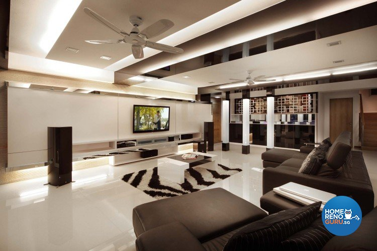 Minimalist, Modern Design - Living Room - Condominium - Design by Vegas Interior Design Pte Ltd