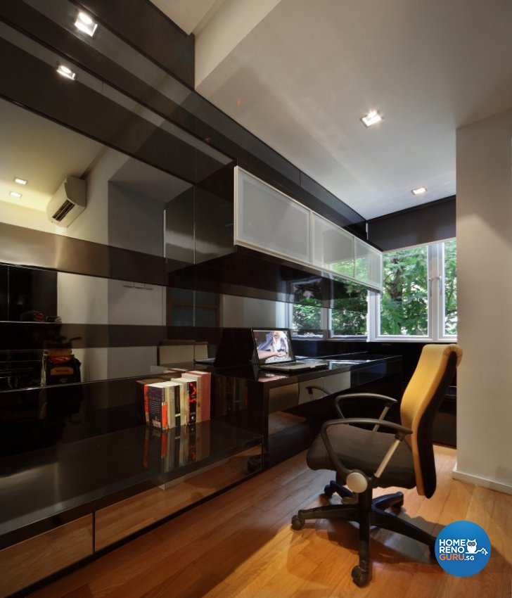 Minimalist, Modern Design - Study Room - Condominium - Design by Vegas Interior Design Pte Ltd