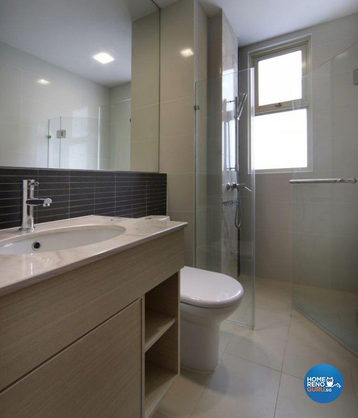 Contemporary, Modern Design - Bathroom - Landed House - Design by Vegas Interior Design Pte Ltd