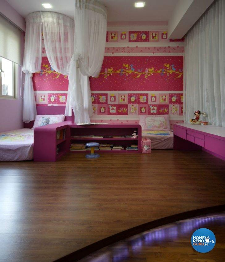 Contemporary, Modern Design - Bedroom - Landed House - Design by Vegas Interior Design Pte Ltd