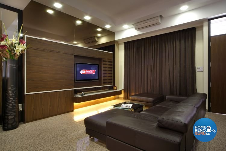 Contemporary, Modern Design - Living Room - Landed House - Design by Vegas Interior Design Pte Ltd