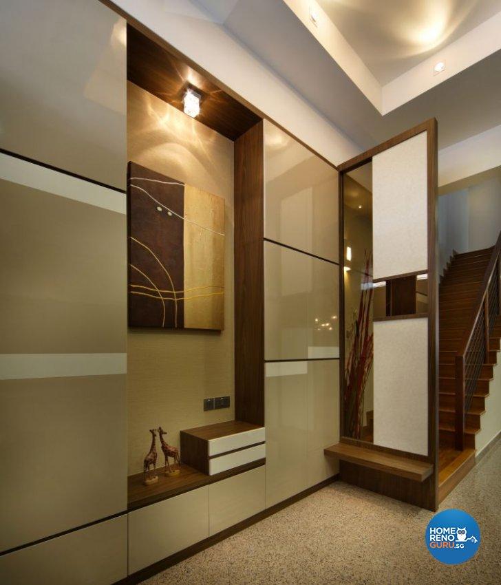 Contemporary, Modern Design - Living Room - Landed House - Design by Vegas Interior Design Pte Ltd
