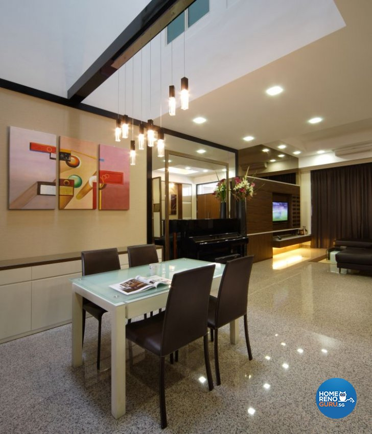 Contemporary, Modern Design - Dining Room - Landed House - Design by Vegas Interior Design Pte Ltd
