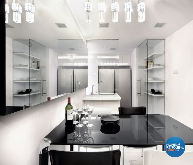 Minimalist, Modern Design - Dining Room - Condominium - Design by Vegas Interior Design Pte Ltd