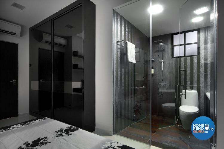 Minimalist, Modern Design - Bathroom - Condominium - Design by Vegas Interior Design Pte Ltd