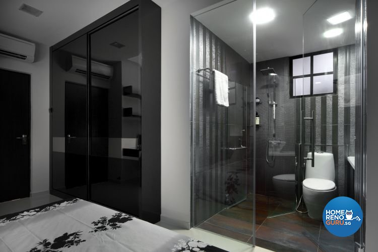 Minimalist, Modern Design - Bathroom - Condominium - Design by Vegas Interior Design Pte Ltd