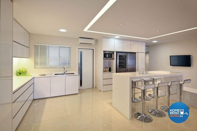 Modern Design - Kitchen - Condominium - Design by Vegas Interior Design Pte Ltd