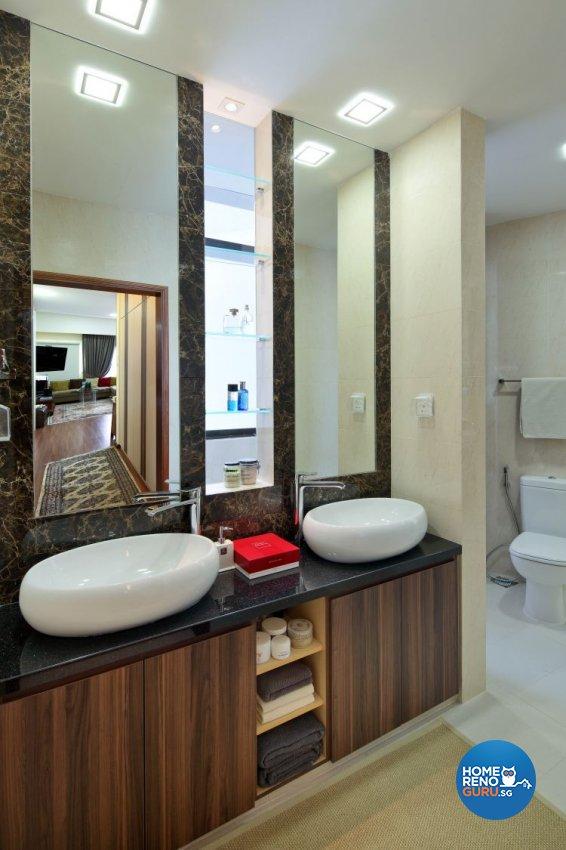 Modern Design - Bathroom - Condominium - Design by Vegas Interior Design Pte Ltd