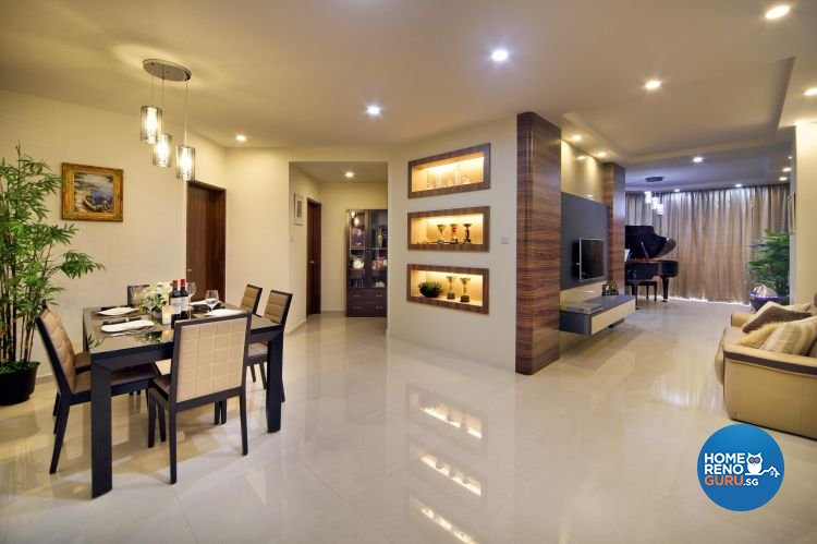 Classical, Contemporary, Modern Design - Living Room - Condominium - Design by Vegas Interior Design Pte Ltd