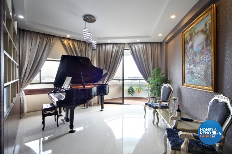 Classical, Contemporary, Modern Design - Entertainment Room - Condominium - Design by Vegas Interior Design Pte Ltd