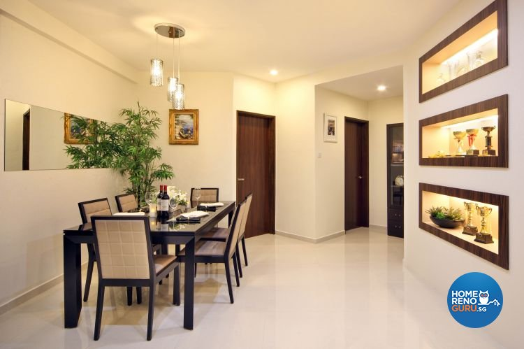 Classical, Contemporary, Modern Design - Dining Room - Condominium - Design by Vegas Interior Design Pte Ltd