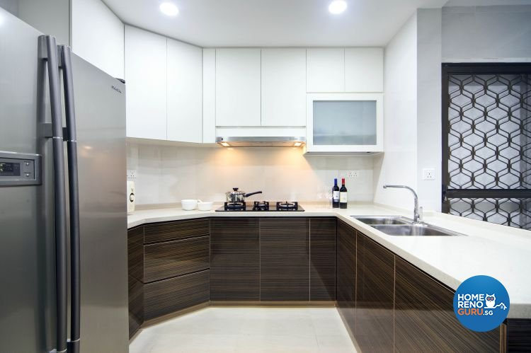Classical, Contemporary, Modern Design - Kitchen - Condominium - Design by Vegas Interior Design Pte Ltd