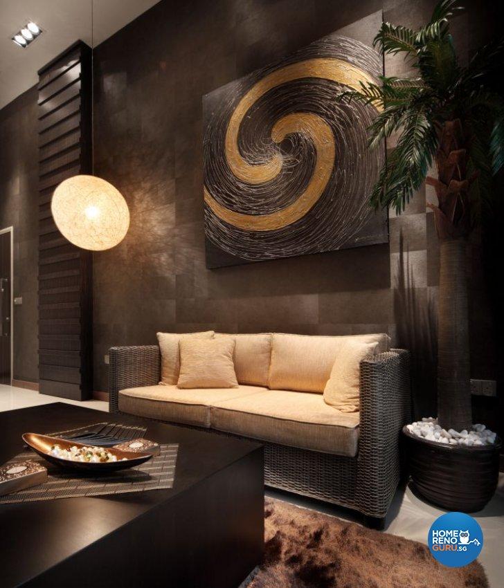 Modern, Resort Design - Living Room - Condominium - Design by Vegas Interior Design Pte Ltd