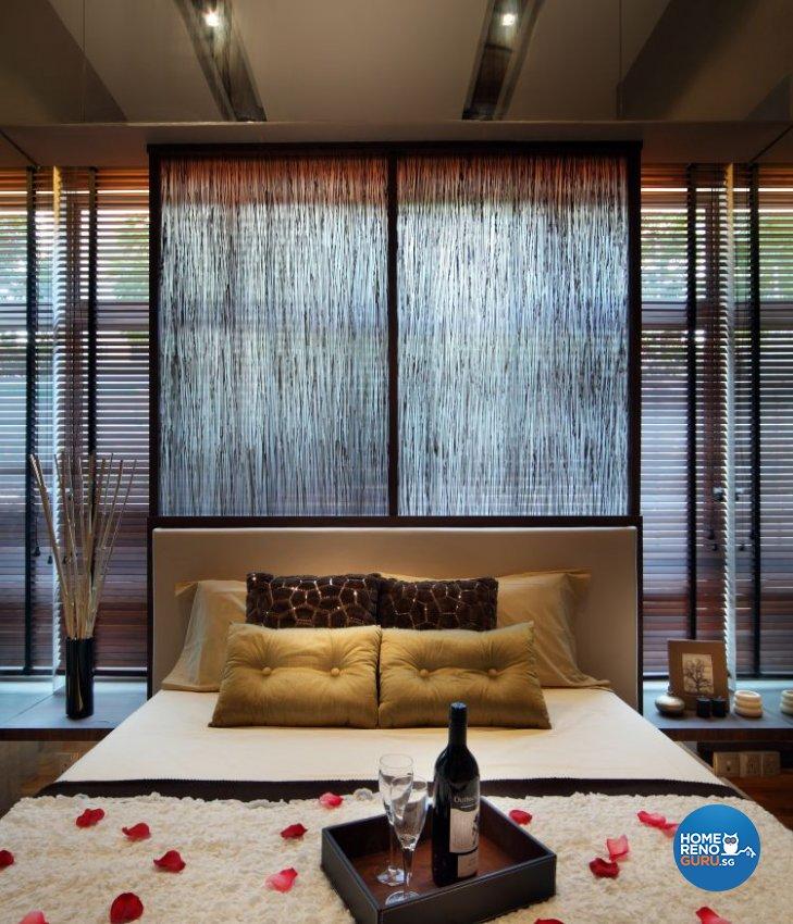 Modern, Resort Design - Bedroom - Condominium - Design by Vegas Interior Design Pte Ltd