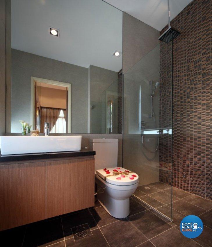 Modern, Resort Design - Bathroom - Condominium - Design by Vegas Interior Design Pte Ltd