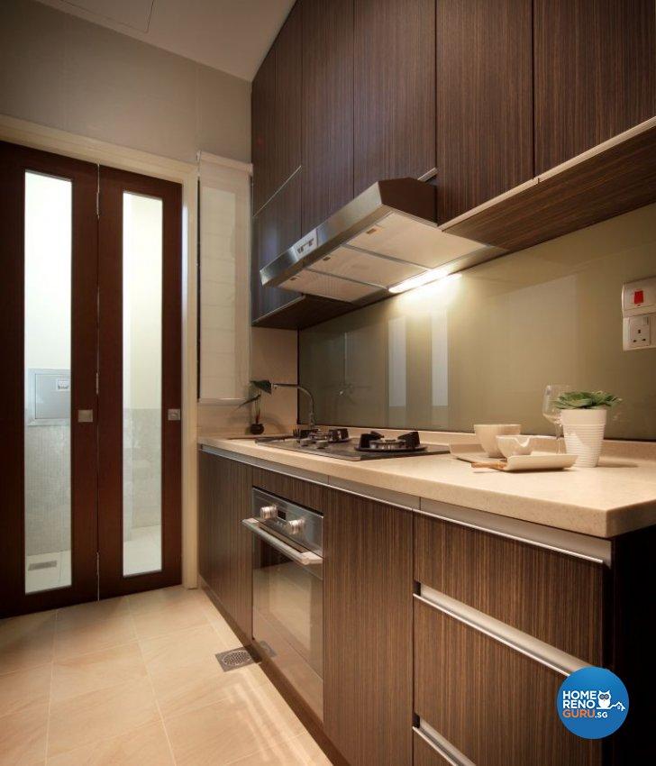 Modern, Resort Design - Kitchen - Condominium - Design by Vegas Interior Design Pte Ltd