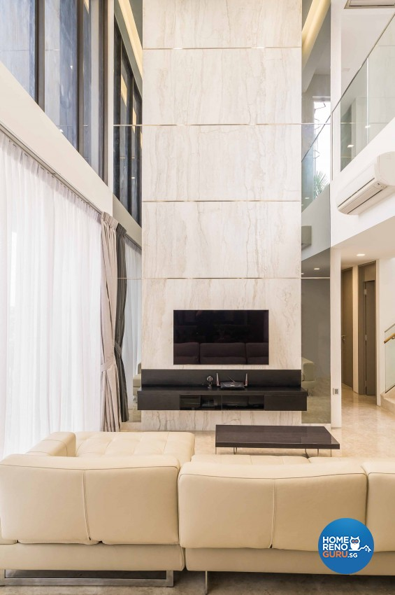 Modern Design - Living Room - Condominium - Design by Vegas Interior Design Pte Ltd