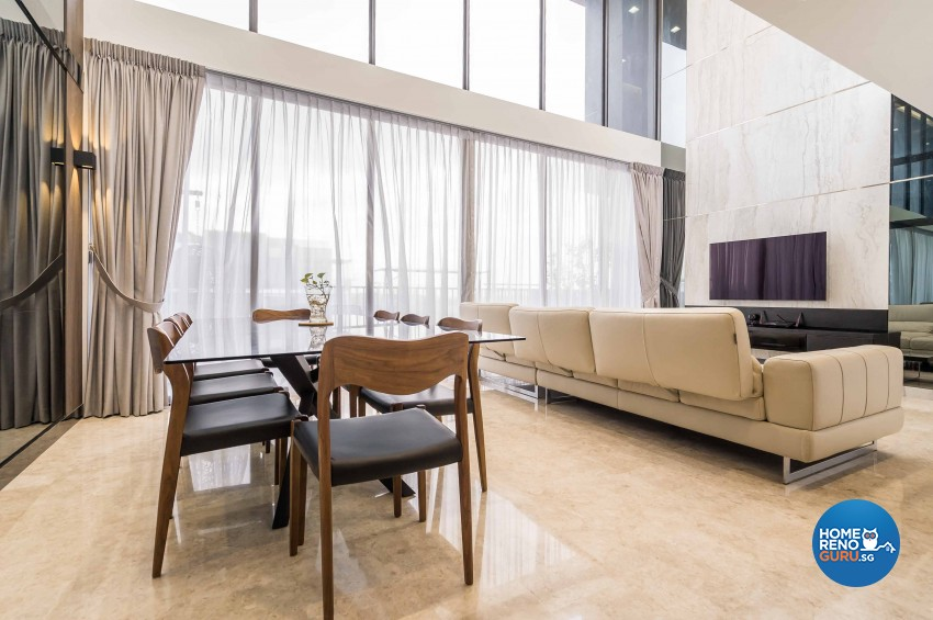 Modern Design - Dining Room - Condominium - Design by Vegas Interior Design Pte Ltd