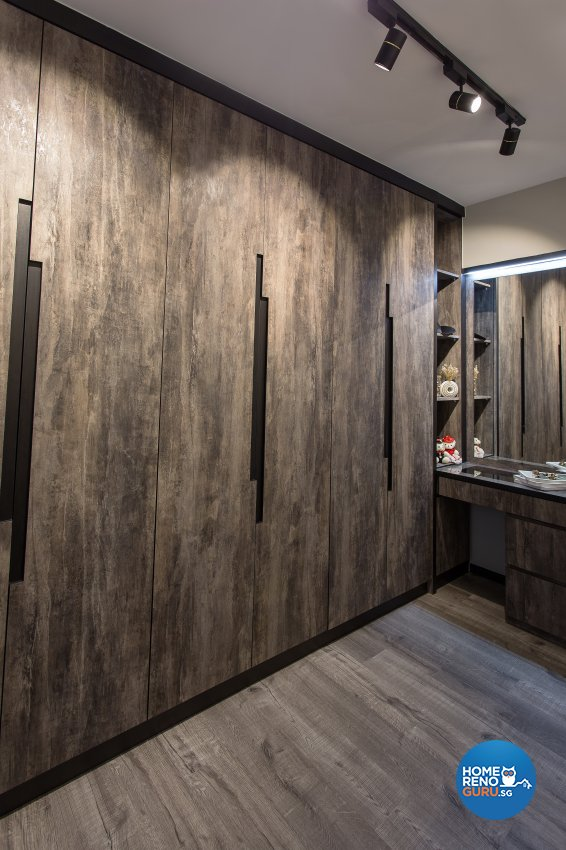 Industrial, Rustic, Vintage Design - Bedroom - HDB 4 Room - Design by Vigorous Design