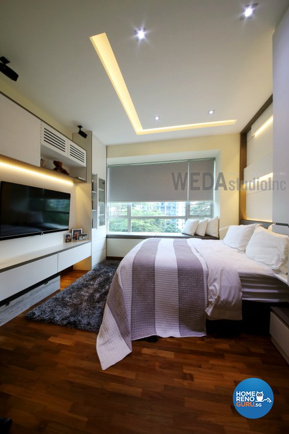 Contemporary, Modern Design - Bedroom - Condominium - Design by WEDA StudioInc Pte Ltd
