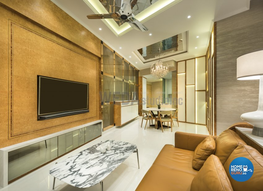 Classical, Modern Design - Living Room - Condominium - Design by WEDA StudioInc Pte Ltd