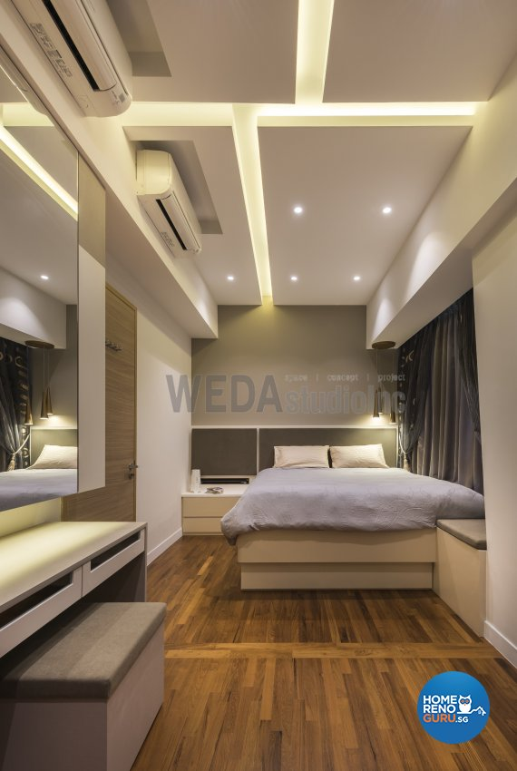 Classical, Modern Design - Bedroom - Condominium - Design by WEDA StudioInc Pte Ltd