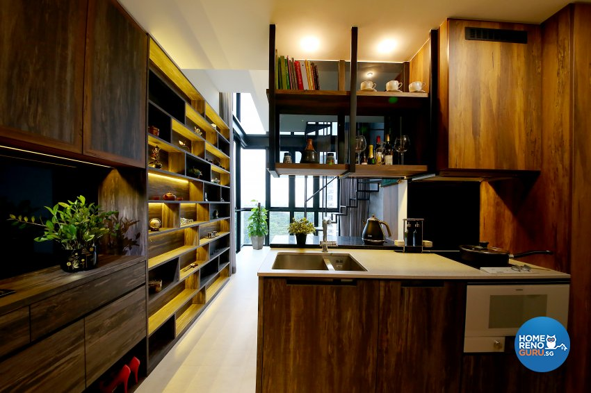Modern, Resort Design - Kitchen - Condominium - Design by WEDA StudioInc Pte Ltd