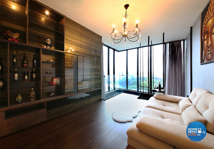 Modern, Resort Design - Living Room - Condominium - Design by WEDA StudioInc Pte Ltd