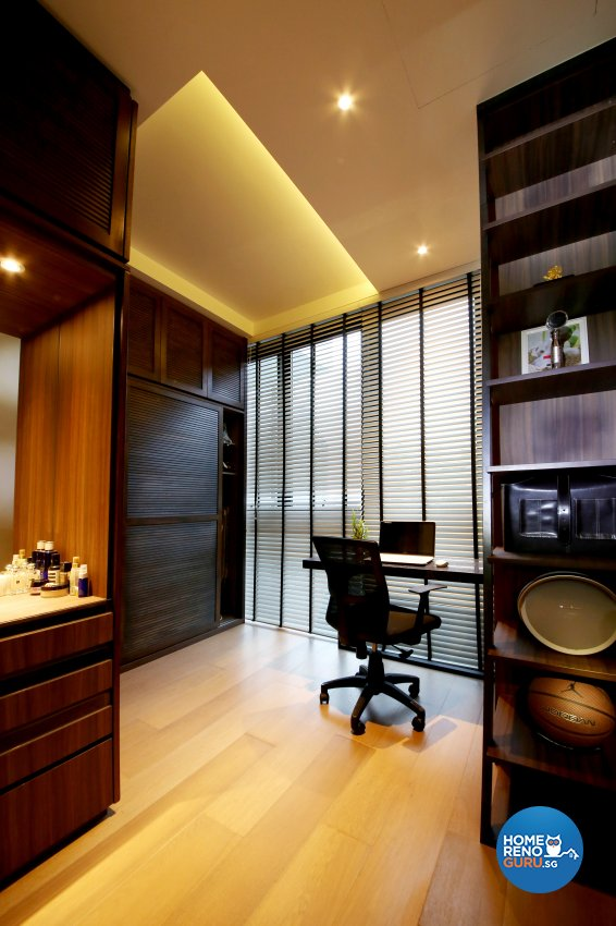 Modern, Resort Design - Study Room - Condominium - Design by WEDA StudioInc Pte Ltd
