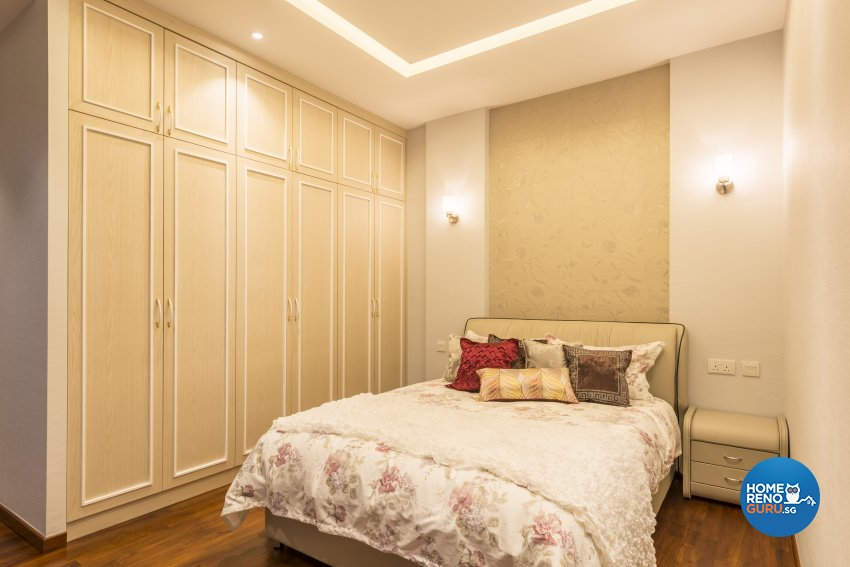 Classical, Victorian Design - Bedroom - Landed House - Design by WEDA StudioInc Pte Ltd