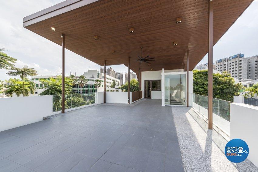 Classical, Victorian Design - Garden - Landed House - Design by WEDA StudioInc Pte Ltd