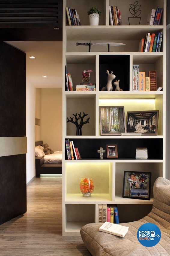 Minimalist, Modern Design - Entertainment Room - Condominium - Design by WEDA StudioInc Pte Ltd