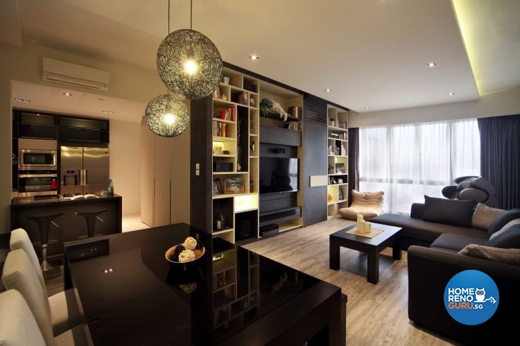 Minimalist, Modern Design - Living Room - Condominium - Design by WEDA StudioInc Pte Ltd