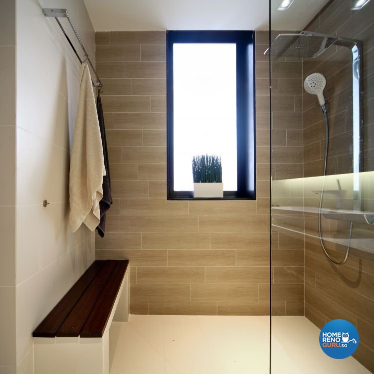 Minimalist, Modern Design - Bathroom - Condominium - Design by WEDA StudioInc Pte Ltd