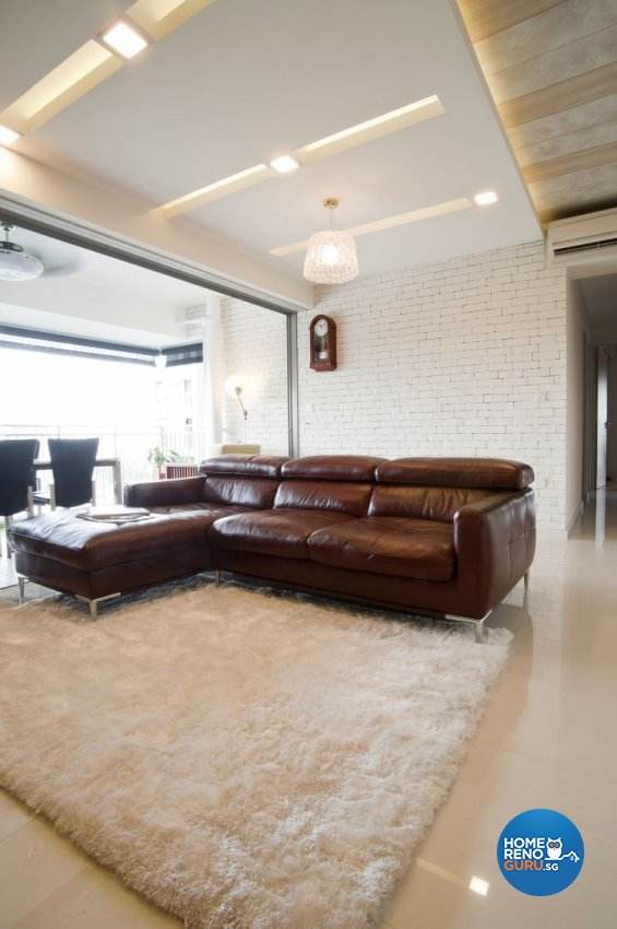 Contemporary, Minimalist Design - Living Room - Condominium - Design by WEDA StudioInc Pte Ltd