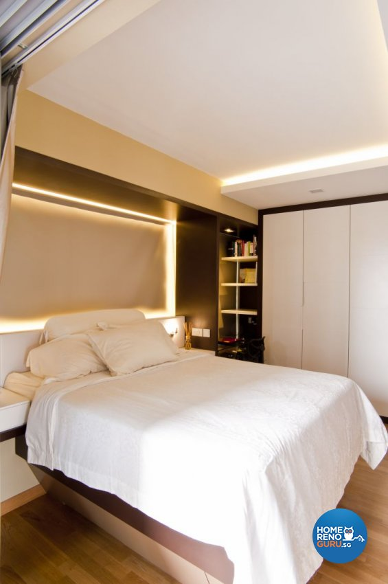 Contemporary, Minimalist Design - Bedroom - Condominium - Design by WEDA StudioInc Pte Ltd